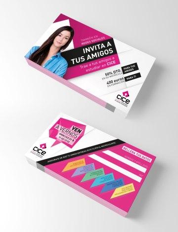 flyer invita a tus amigos